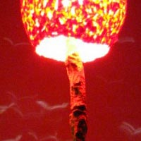 red hot lamp